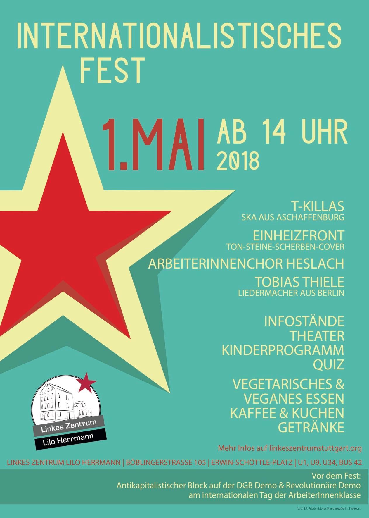 Internationalistisches 1. Mai Fest